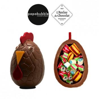 Partenariat Papabubble - L'Atelier du Chocolat pour les fêtes de Pâques