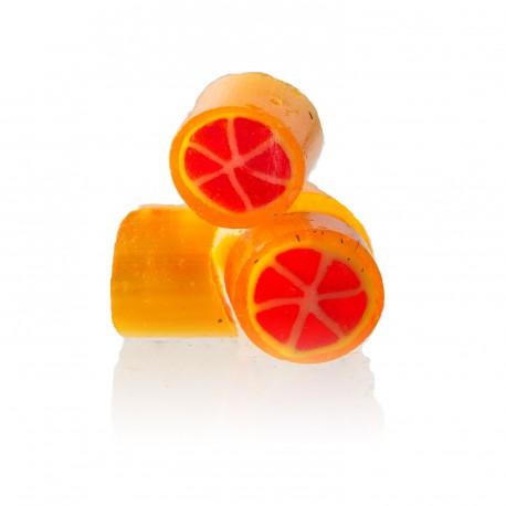 Bonbons saveur pamplemousse Papabubble
