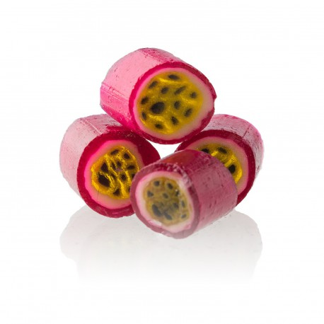 Bonbons saveur Fruits de la passion Papabubble